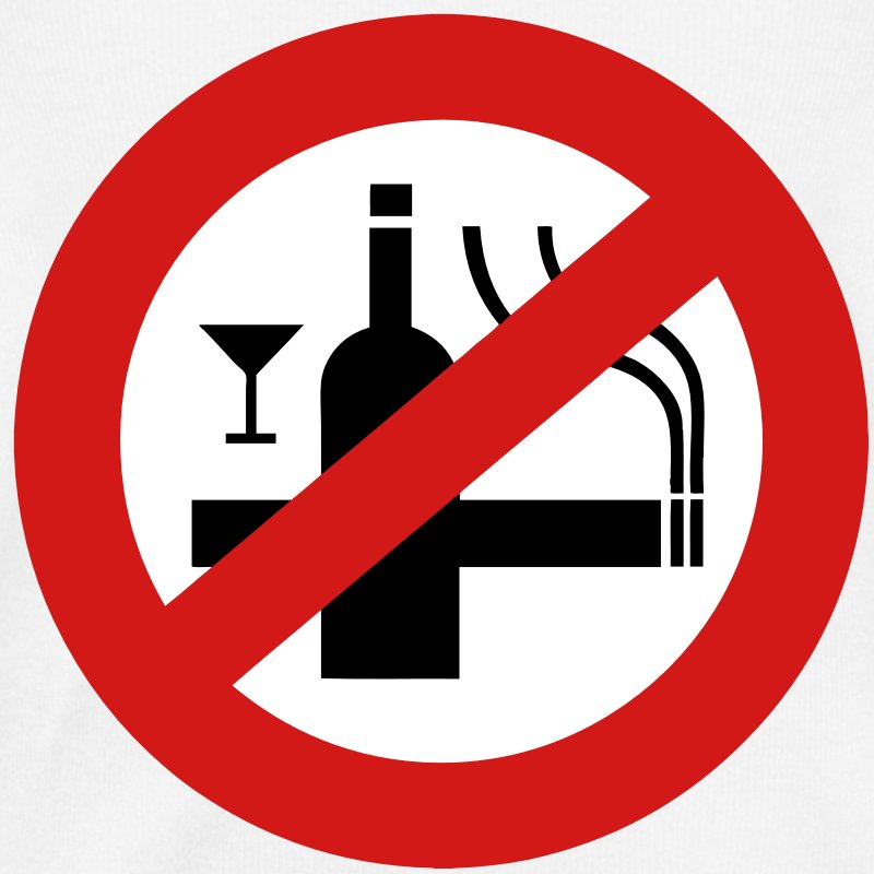 I neither drink nor smoke